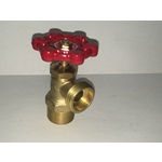 "Shut-off Valve, 3/4"" NPT Brass"