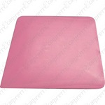 Pink Square Corner Hard Card