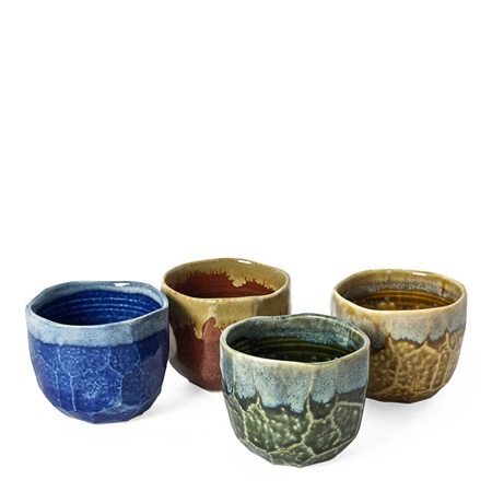 Jewel Boulder 10 Oz. Teacup Set