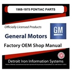 1968-1975 Pontiac Factory Parts Manual, CD