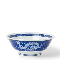 "Dragon Blue 8.5"" Bowl"