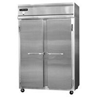 "Continental Refrigeration 2F-SA 52"" Solid Door Reach-In Freezer"