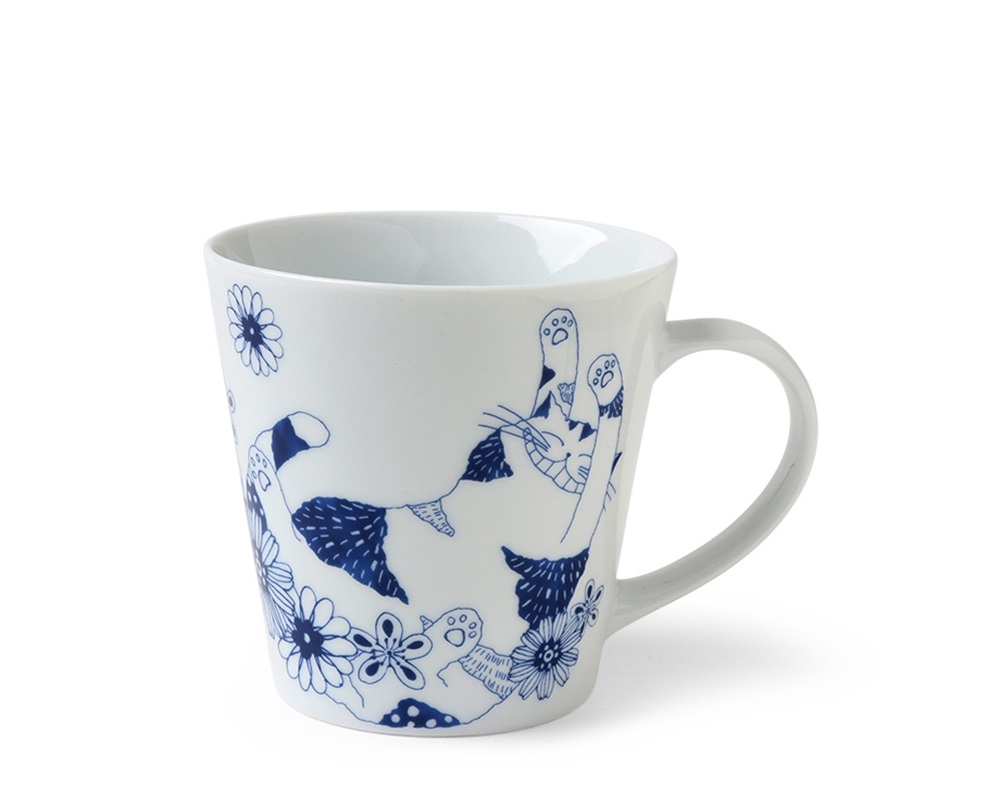 Blue Cats 8 oz. Mug Ron Ron