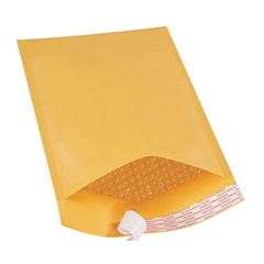 "8.5 X 14.5"" KRAFT BUBBLE MAILERS, SELF-SEAL, #3,"