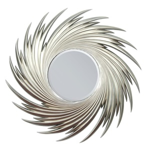 "97060 SILVER ACCENT MIRROR, 44""D"