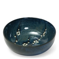 "Namako Blossoms 9.5"" Serving Bowl"