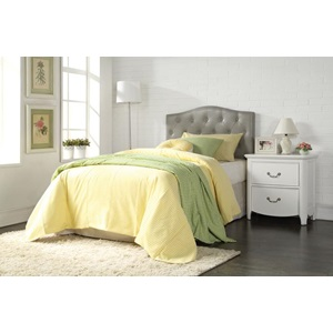 39131Q GRAY QUEEN HEADBOARD