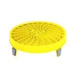 DIRT LOCK BUCKET INSERT- YELLOW