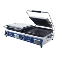 Globe GPGDUE14D Sandwich/Panini Grill Double
