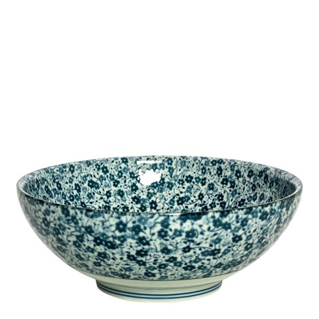 "BLUE FLOWERS 8.25"" BOWL"