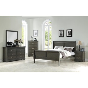26793 DARK GRAY NIGHTSTAND