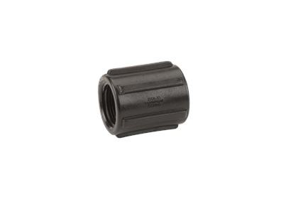 "3/4"" NPT Poly Pipe Coupling 