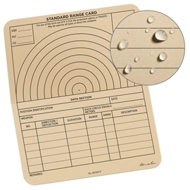 RANGE FORM CARD