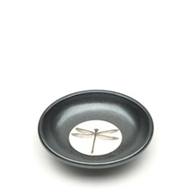 Sauce Dish Graphite Gray/Black Dragonfly