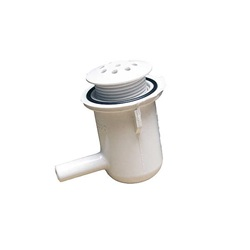 "AIR INJECTOR: 3/8"" BELL STYLE WHITE"