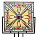 "17""H Mission Style Panel Lamp"