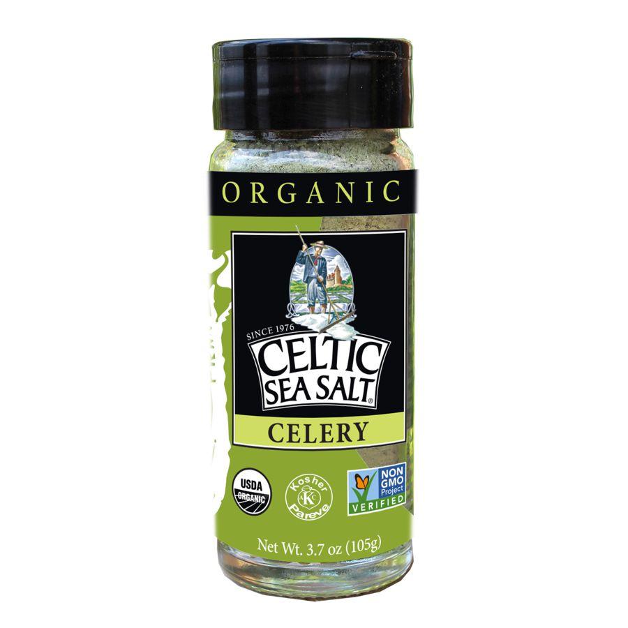 Selina Naturally - Organic Celery Seasoned Celtic Sea Salt