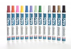 GP-X Classic Markers: Make Your Mark in a Broader Spectrum of Color
