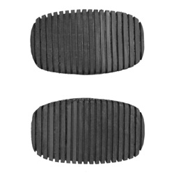 Brake and clutch pedal pad