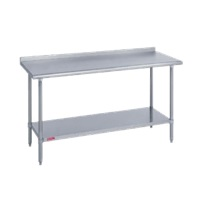 Duke Manufacturing 418-2424-2R Work Table Stainless Steel Top