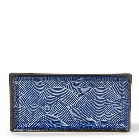 Aranami Wave Rectangle Plate