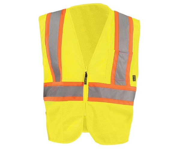 High Visibility Value Mesh Two-Tone Safety Vests