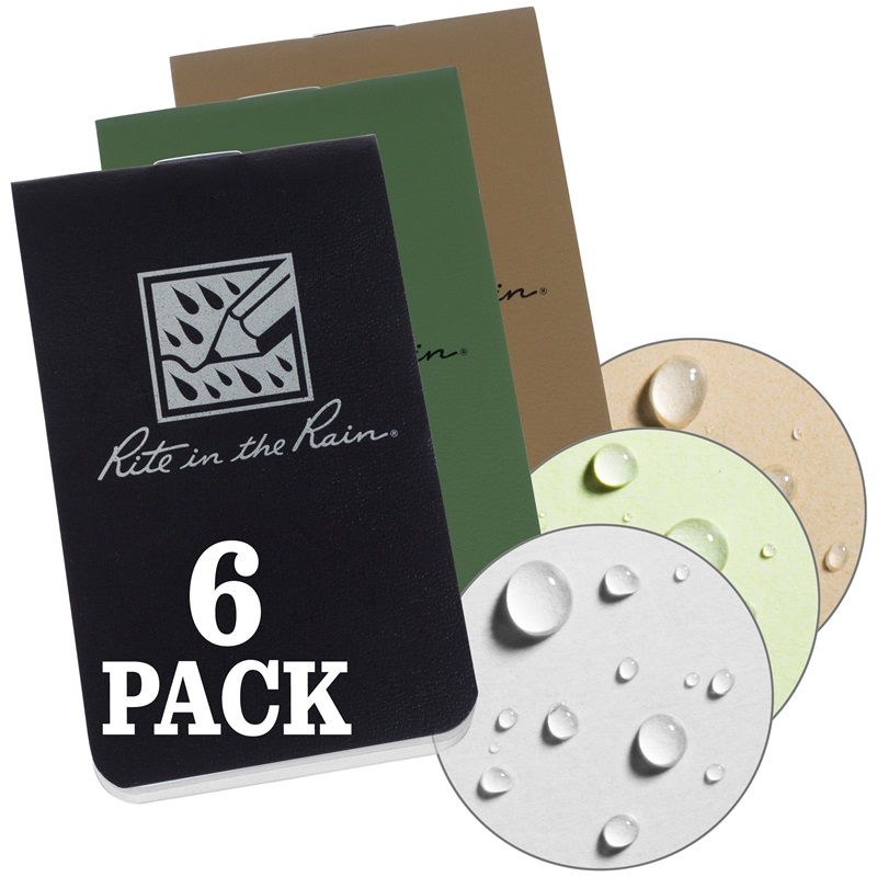 On-The-Go Notebooks (6-pack)
