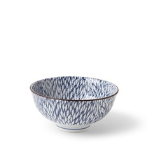 "AIZOME MUMS 4.5"" RICE BOWL"
