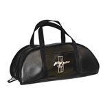 1964-73 Mustang Tote Bag (Large, Black with Emblem)