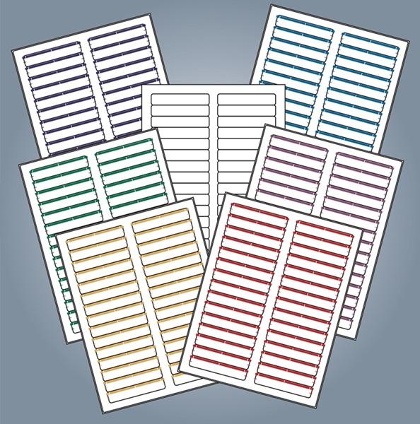 Avery Compatible Laser / Inkjet File Folder Labels