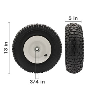 "13"" Heavy Duty Pneumatic Wheel"