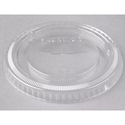 662TS CLEAR SLOTTED LID FOR 9OZ - 20OZ DART CUP,