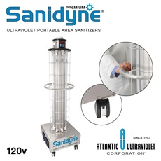 Sanidyne® Premium UV Portable Air and Surface Sanitizers
