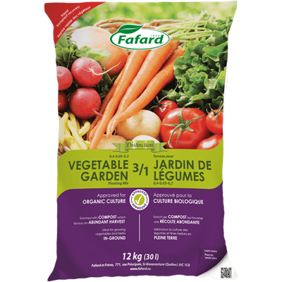 Fafard Organic 3/1 Vegetable Garden Planting Mix