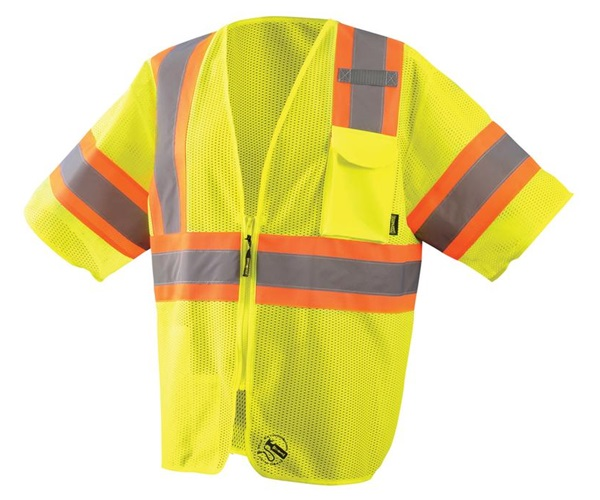 Self Extinguishing Class 3 Two-Tone Vest