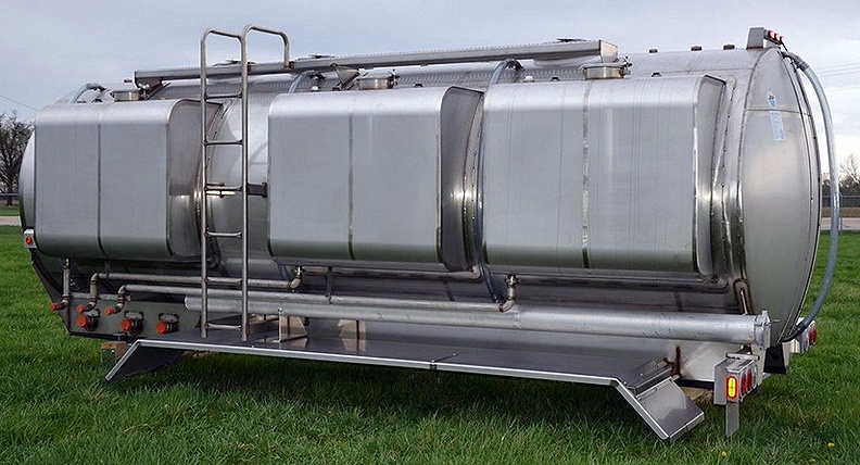 Side Mounted Rinse Stainless Steel Tank