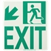 Running Man Arrow Exit, Down Left
