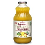 Pineapple/Ginger Juice Blend (Lakewood) - Organic - 32oz