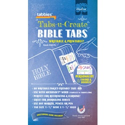 Tabs-u-Create Bible Indexing Tabs