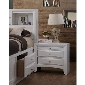 21704 IRELAND WHITE NIGHTSTAND
