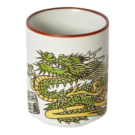 Green Dragon Teacup