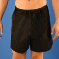 Disposable Mens Boxer, Black S/M 34-38, 50 Boxer/Case