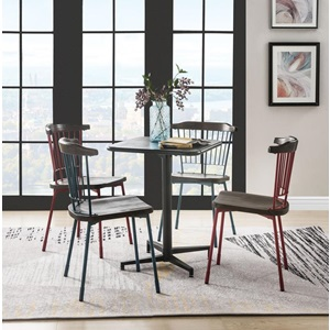 72095 BLACK DINING TABLE