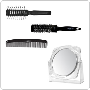 Hair Brushes, Combs & Mirrors