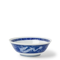 "Dragon Blue 7.75"" Bowl"