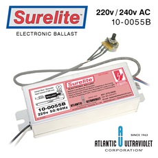 Ballast: Surelite™ Variable 220 -240v/50-60Hz