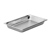 "Economy Perforated Anti-Jam Full Size, 2-1/2"" D Steam Table Pans"