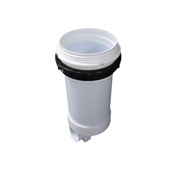 "FILTER CANISTER: 2"" TOP LOAD BODY WITH BYPASS"