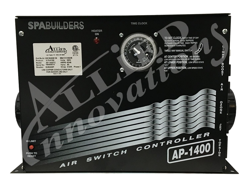allied innovations control ap 1400tc 220v with 5 5kw Spa Builders Ap 4 Schematic