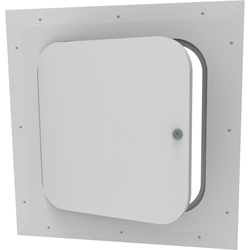 Concealed Hinged Access Door - Radius Corner with Keyed Cam Lock
